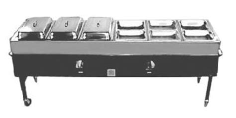 portable propane steam table coast rentals los alamitos los