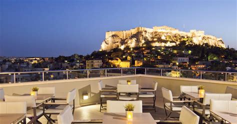 Best Roof Top Bars by The Top 8 Rooftop Bars Restaurants In Athens