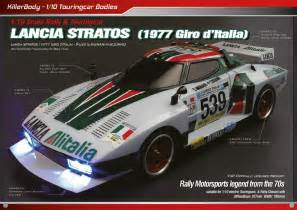 Rc Lancia Stratos Killerbody Lancia Stratos Rc Cars Rc Parts And Rc