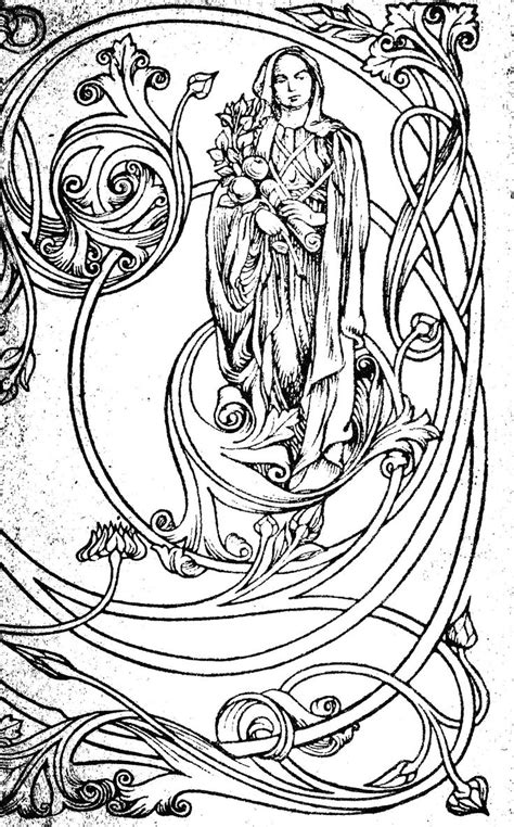 tattoo nouveau 367 best colouring pages images on coloring