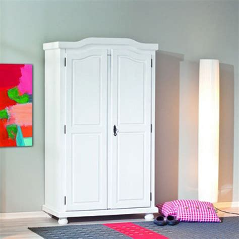 Solid Wood White Wardrobes by Hedda White Solid Wood Wardrobe