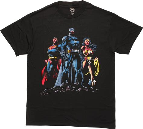 T Shirt Justice League Dc Justice League 28 justice league dc trio t shirt