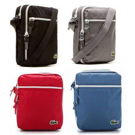 Lcost Bag lacoste backcroc bag in various colours ebay