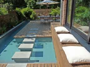 Small Backyard With Pool 15 Great Small Swimming Pools Ideas Home Design Lover