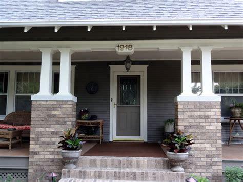 craftsman porches milestone 10 craftsman porch columns restored by