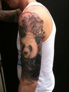 panda japanese tattoo panda tattoos designs ideas and meaning tattoos for you