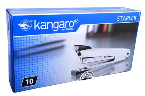 Kangaroo Stapler No 10 kangaro hd 10 stapler stationery store in jb 新山区文具商