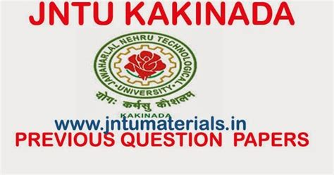 Jntuh Mba 2nd Sem Results 2016 by Jntuk M Pharmacy 1st Semester Previous Question Papers