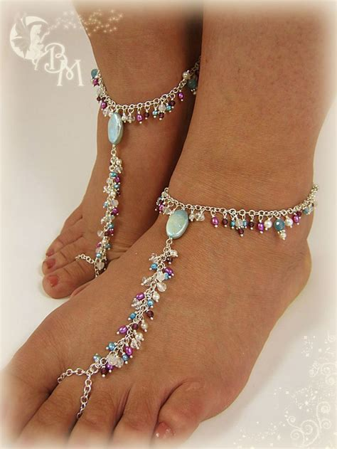 beaded barefoot sandals sandals barefoot jeweled sandals