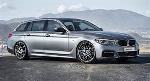 all new 2017 bmw 5 series dreamt up in touring guise