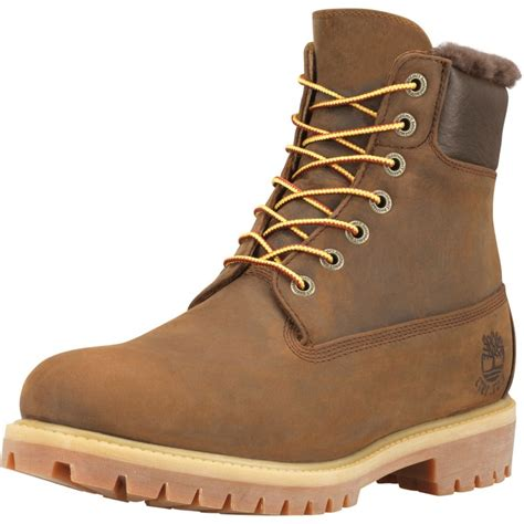 mens shearling boots timberland heritage 6 quot shearling lined mens boot mens