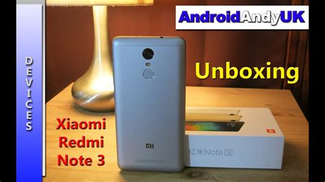 xiaomi redmi note 3 unboxing and look