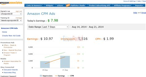 How To Make Money Online Same Day - how to make money online with amazon cpm ads