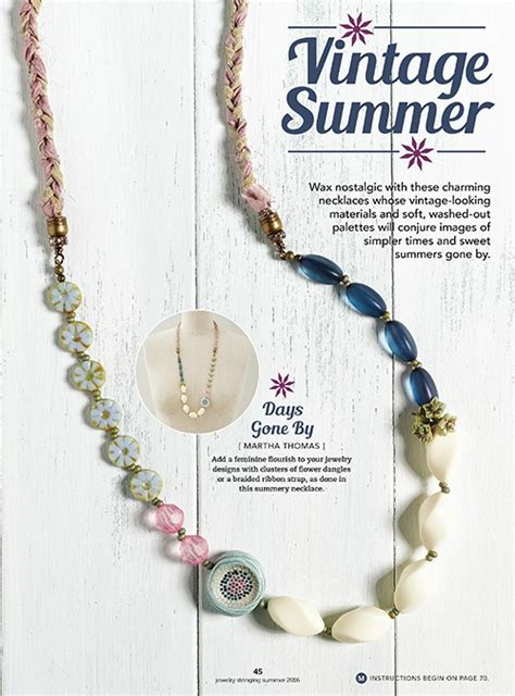 summer french edition 97 jewelry stringing summer 2016 print edition