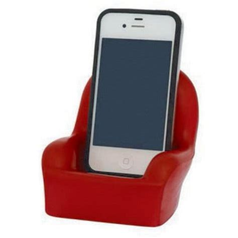Cell Phone Holder Giveaways - chair shaped cell phone holder stress toy logo computer accessories