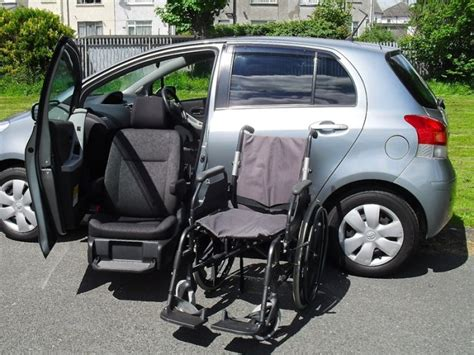swivel car seat for seniors electric swivel seat toyota yaris for elderly or disabled