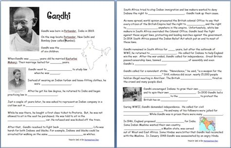 biography of mahatma gandhi for school project learning about hinduism hindu gods and goddesses