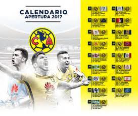 Calendario Azteca 2017 Calendario Am 233 Rica Torneo Apertura 2017 Club Am 233 Rica