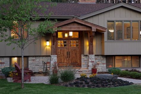 split level front porch designs amazing tips for remodeling a split level exterior home
