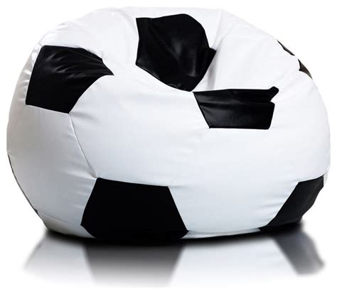 Soccer Bean Bag Chair by Beanbag Soccer Large Modern Bean Bag Chairs By Turbo Beds