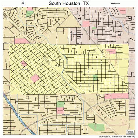 south texas maps south houston texas map 4869020