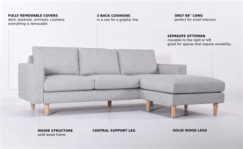 sofa base support gallant metal legs base support over