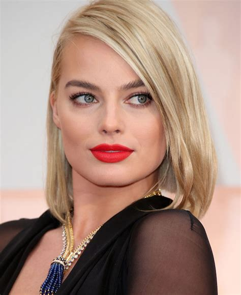 Ginger Rose Beauty Oscars Margot Robbie Make Up Look