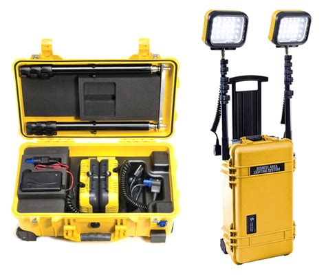 Portable Work Lights Remote Area Lighting System Led Area Lights