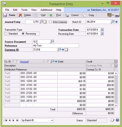 general journal excel template bookkeeping and accounting journal