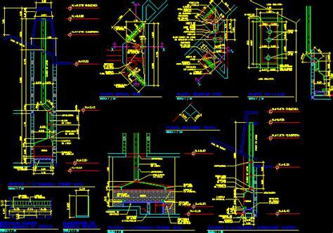 fireplace details dwg detail  autocad designs cad