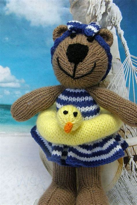 knitted stuffed animals 1000 ideas about knitted stuffed animals on
