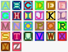 alphabet pieced quilt blocks patterns with templates