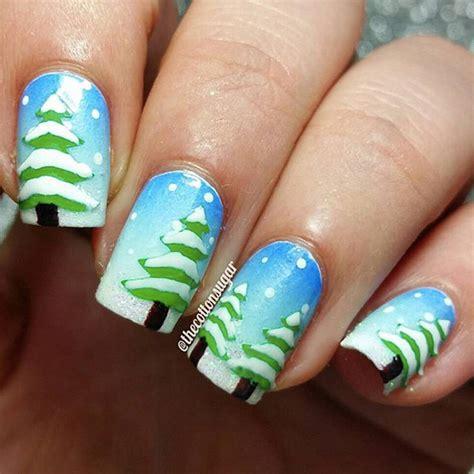 nail art winter tutorial winter nail art tutorials from instagram popsugar beauty