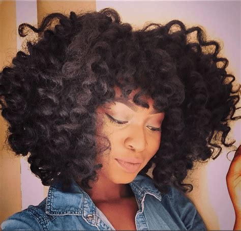 hair used for crochet fro the crochet look using afro twists braids