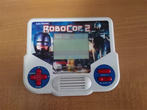 console giochi anni 80 gig tiger robocop 2 videogames anni 80 portatile retroswap
