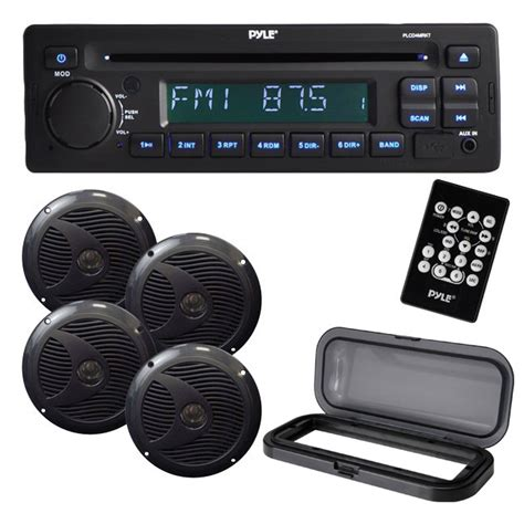 boat marine stereo systems get 2018 s best deal on pyle plcd4mrkt marine stereo