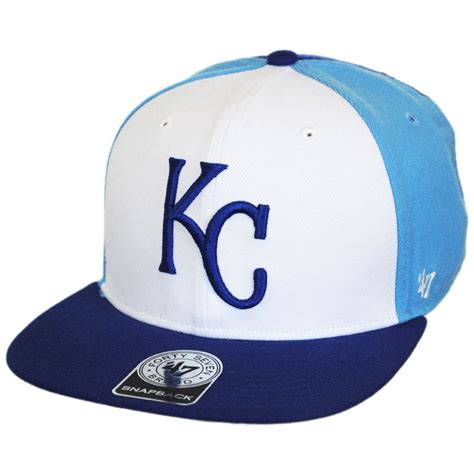 47 brand kansas city royals mlb amble snapback baseball