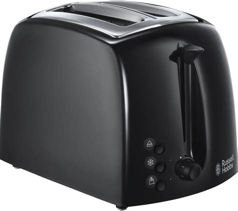 Black And White Toaster Buy Hobbs Textures 21641 2 Slice Toaster Black