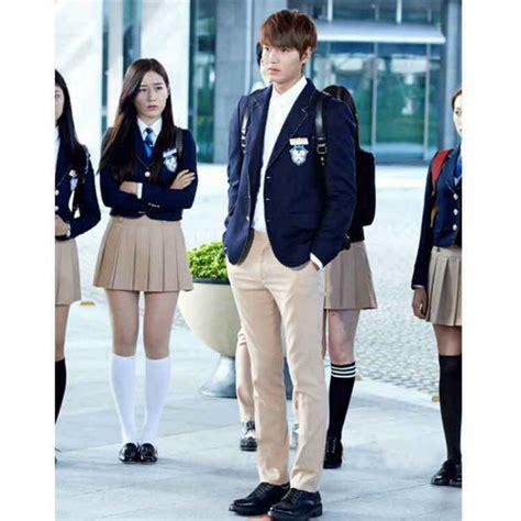Korean Student Costume Setelan Anak japanese school for boys and jk korean college students costumes shirt