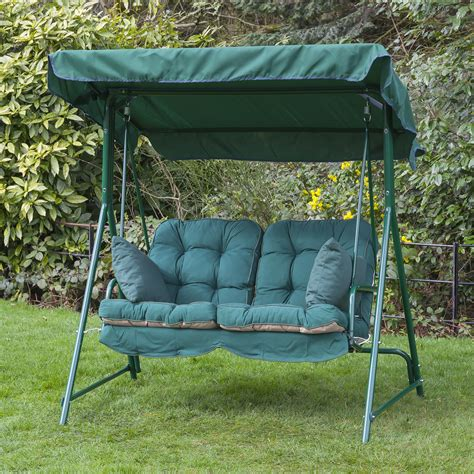 patio swing cushion replacement alfresia luxury garden swing seat cushions 2 seater ebay