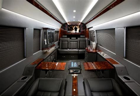 Mercedes Sprinter Interior by Mercedes Sprinter Outfitted Like A Jet