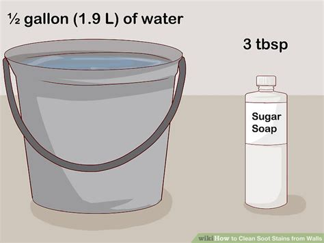 clean wall stains how to clean soot stains from walls with pictures wikihow