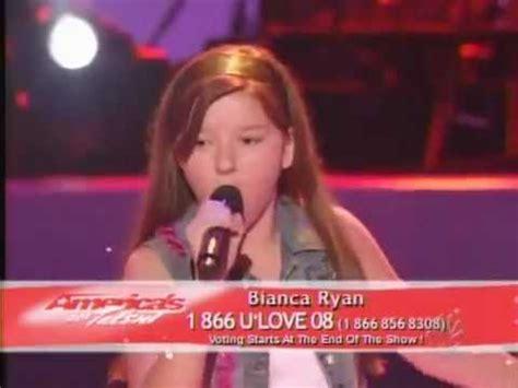 bianca ryan piece   heart janis joplin semi final americas  talent youtube
