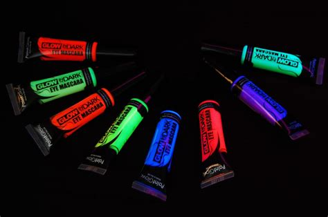 glow in the paint next day delivery paintglow glow in the eye mascara fast usa shipping