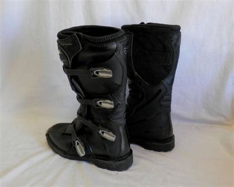 fox tracker motocross boots sell fox racing s tracker motorcycle boots black