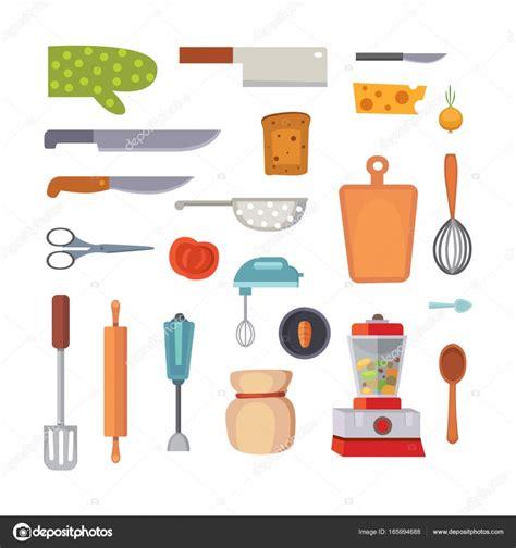 cooking tools mail conjunto de utens 237 lios de vetor ferramentas de cozinha estilo simples cozinhar objetos