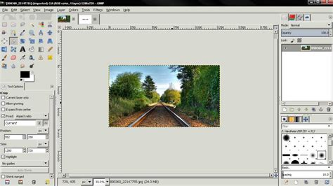 hdr gimp tutorial youtube youtube custom thumbnails size and cropping tips gimp