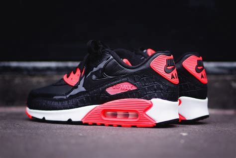 Nike Air Mac by Nike Air Max 90 Quot Infrared Croc Quot Sneakernews