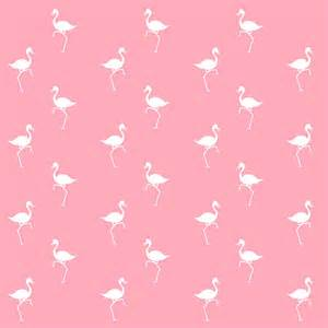 Marvelous What Is Fine Art #6: Pink-flamingos-pattern-christina-rollo.jpg