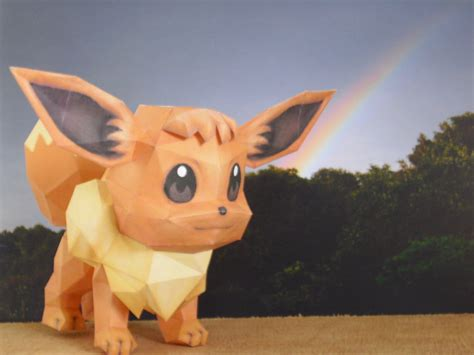 Eevee Papercraft - eevee papercraft by timbauer92 on deviantart
